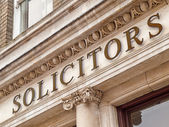 Solicitors — Foto Stock