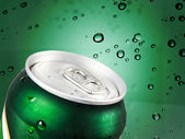 Cold drink can — Stock Photo