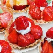 Strawberry tart - Stock fotografie