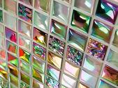 Glass mosaic tiles — Stock Photo