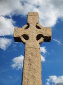 Stone cross — Stock Photo