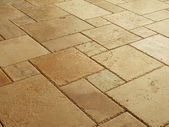 Stone tiled floor — Stock Photo