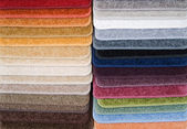 Samples of carpet — Stock fotografie