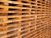 Wooden battens — Stock Photo
