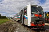 Standing train — Stock Photo