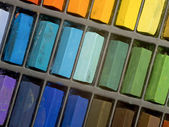 Artists pastels — Stock Photo