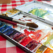 Royalty-Free Stock Photo: Artists watercolour paintbox