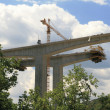 Stock Photo: Bridge under construction