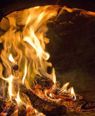 Magnificant fogo — Fotografia Stock