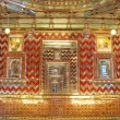 Golden indian room — Stockfoto
