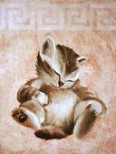 милая кошечка — Стоковое фото