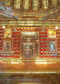 Golden indian room — Foto Stock