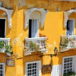 Balconies of Cartagena, Colombia — Stock Photo #8366145