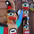 Stock Photo: Totems of Alaska