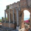 Royalty-Free Stock Photo: Antique amphitheater Teatro Greco, Taormina