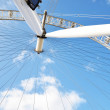 London Eye from Below — Stock Photo