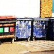 London's Grabage Bins - Stock Photo