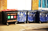 London's Grabage Bins — Stock Photo