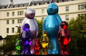 Gummy Bears in London — Zdjęcie stockowe