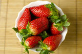 Strawberries in a cup — Foto de Stock