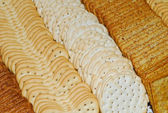 Tray of Crackers — Stock Photo