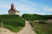 North Light, Block Island, Rhode Island — Stock Photo