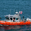 U.S. Coast Guard Gunship — Stock Photo
