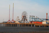 Famous Steel Pier, Altantic City, NJ — Stock Photo