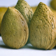 Royalty-Free Stock Photo: Two almonds close up