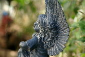 Garden Angel — Stock Photo