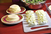 Prepare for dumplings — Stock Photo