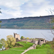 Stock Photo: Urquhart Castle overlooking Loch Ness