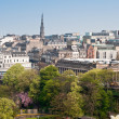 Stock Photo: View of Edinburgh Princes Street
