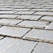 Slate roof closeup — Stock Photo
