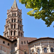 Stock Photo: St Sernin Basilic in Toulouse
