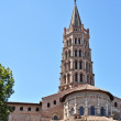 St Sernin Basilic in Toulouse - Stock Photo