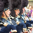Stok fotoğraf: Group of Scottish pipers play their traditional music