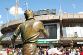 Place des Mousquetaires, French Open 2008 — Stock Photo