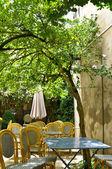 Boş kafe teras — Stok fotoğraf