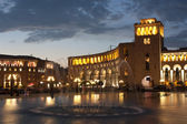Yerevan, Republic square — Stock Photo
