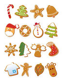 Delicious Christmas Cookies — Stock Vector
