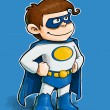 Boy Superhero — Stock Photo