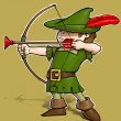 Little Robin Hood. — Stock Photo
