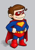 Little Superhero. — Stock Photo