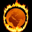World is burning — Stock Photo #8933029