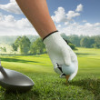 Tee up — Stock Photo