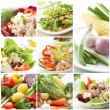 Choices Of Salad — Stock Photo