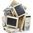 Obsolete computer — Stock Photo #9023447