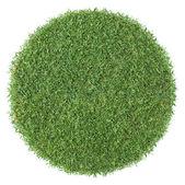 Round shape grass — Stock Photo