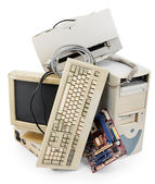 Old computer — Stock Photo